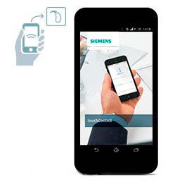 Siemens Touch Control App for Smart Phones